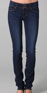 PAIGE HIDDEN HILLS SKINNY STRETCH JEANS BLUE JEANS